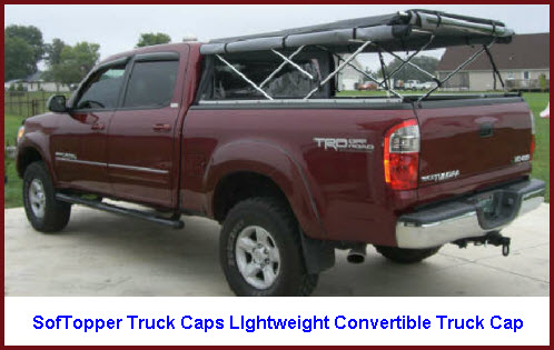 SofTopper Truck Caps Lightweight Convertible Truck Toppers
