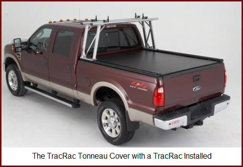 The TracTonneau Cover is designed to be used with the TracRac system.