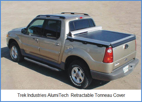 Trek Industries Alumi Tech Tonneau Cover is a Retractable Truck Bed Cover