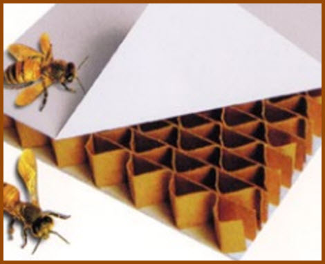 Tricel Honeycomb is Used in Manufacturing Most Fiberglass Tonenau Covers and Truck Caps.