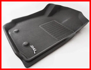 Tru-Fit Carpets makes 3d Car Floor Mats. Similar to car floor liners they protect a larger area than a regular car mat.