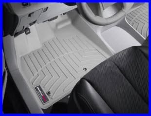WeatherTech Digital Fit FloorLiner looking good protecting your vehicles floor.