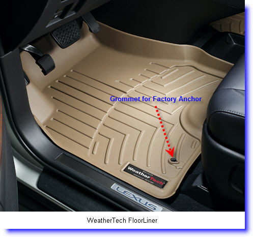WeatherTech Floor Liner Car Mats perfectly fit onto your vehicles floor and provide protection against water, dirt and other nasty stuff.