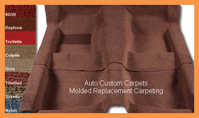Auto Custom Carpets Molded Replacement Carpet