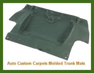 Auto Custom Carpets Molded Trunk Mats