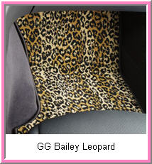 GG Bailey Custom Animal Floor Mat in Leopard