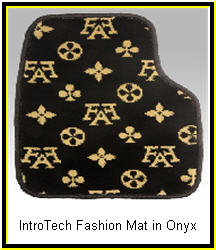 IntroTech Fashion Style Onyx Custom Car Mats