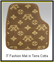 IntroTech Fashion Terra Cotta Custom Car Mats