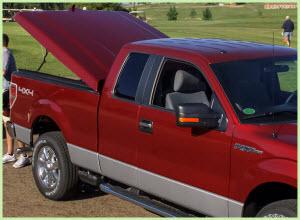 A.R.E. LSX Model Fiberglass Tonneau Cover is a popular choice among pickup truck owners.