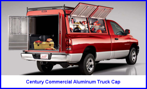 Century Truck Caps Makes Fiberglass And Commercial