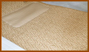 Designer Mat International Coco Auto Mat made from natural coconut fibers. Front, rear and cargo area mats are available in a variety of colors.