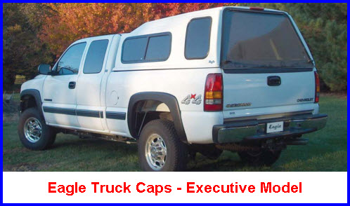Eagle Truck Caps come in 5 different fiberglass cap models for recreational use and enjoyment. And for you hard workers there is an Eagle Truck Cap made especially for commercial purposes.