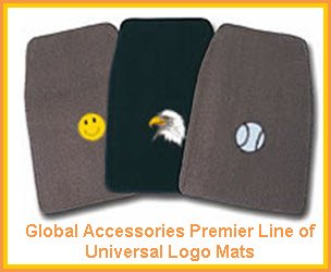 Global Accessories Universal Fit Car Floor Mats. This is the Global Accessories Premier line of car floor mats.
