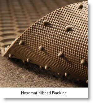 Hexomat, deep well design special vinyl rubber like material car floor mat from Intro-Tech Automotive