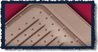 Husky floor mats with Sta-Put nibs. Husky truck mats.