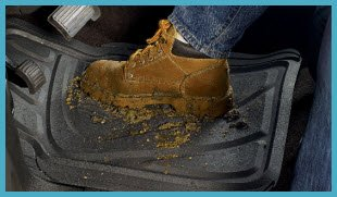 Kraco Heavy Duty Rubber Universal Car and Truck Floor Mats are an economically wise choice when inclement weather is encountered.