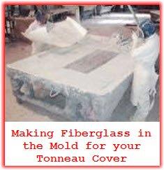 Leer Tonneau Covers are made of molded fiberglass