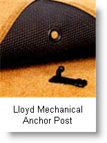 Lloyd Mats Car Mats use a mechanical anchor post to keep their mats from slipping on your vehicles floor.