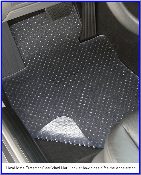 Lloyd Mats Protector - Clear Vinyl Car Floor Mat