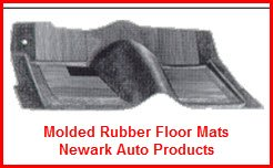 Newark Auto Products Molded Rubber Floor Mats and Floor Coverings. A perfect fit rubber carpet or floor liner for your vehicle.
