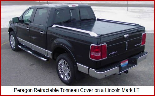 Peragon Retractable Tonneau Cover with custom truck bed rails. What a great Truck Bed Cover