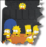 Car Mats with The Simpsons, Supergirl, Wonder Woman, Hello Kitty, Tinkerbell and many other cartoon and fantasy characters may be found today.