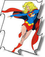 Personalized Car Mats Cartoon Characters including Supergirl and other comic characters may be found on personalized car mats today.