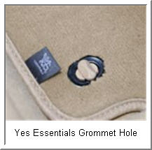 s Essentials Automobile Mats have Anchor Grommets and are resistant to stains, odors, mold and mould