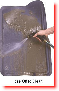 Clean Your Nifty Car Floor Mats or Floor Liners with soap, water and hose.