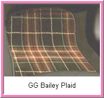 Plaid Custom Car Mats GG Bailey