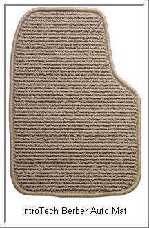 Berber Car Mats from IntroTech are a stylish upgrade to your vehicle's interior. Great wearability and complementary colors add to the ambience of your car, truck or SUV.